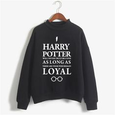Harry Potter Printed Sweatshirt (13 colors) //Price: $29.49 & FREE Shipping // #hermionegranger #dumbledore #malfoy #jamespotter #voldemort