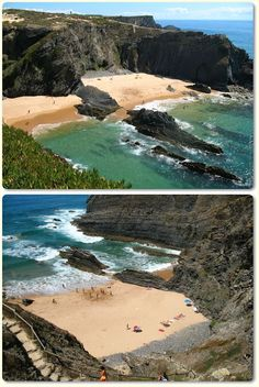 Praia da Carraca - Alentejo coastline #Portugal. Well, almost empty!