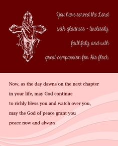 priest farewell poem - Google Search | Quotes | Pastor ...