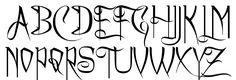Image result for halloween fonts alphabet