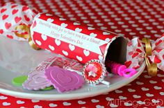 Looking for a memorable way to exchange Valentine greetings this February 14th? Try these easy DIY Valentine Poppers! (Psst - they're made out of toilet paper r…