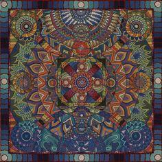 Heart Center Pastels Mandala