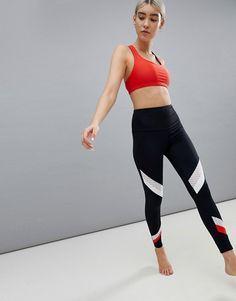 6db21a0e199300 Onzie Colourblock Yoga Leggings £25.50 £51.00 Yoga Leggings, Women's  Leggings, Tights,. ASOS