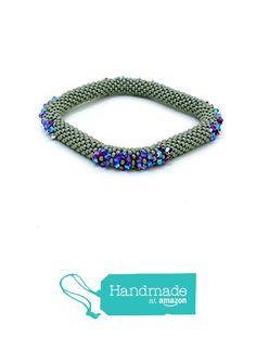 Green square swarovski bracelet BR1106 from Nazo Design https://www.amazon.com/dp/B01H7Z45E2/ref=hnd_sw_r_pi_dp_KTy6xb4H7Q9Q6 #handmadeatamazon