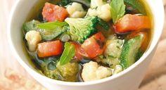 Sopa de verduras | Recetas para adelgazar