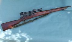 US WW2 Remington M1903-A4 Sniper Rifle.