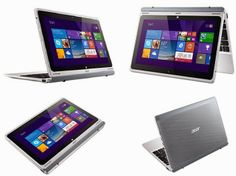 Acer Aspire Switch 10 - 2-In-1 Laptop That Can Be Used In 4 Positions