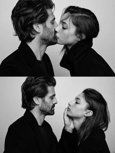Photographer and Model couple Chris Colls & Alexandra Agoston Love Couple, Beautiful Couple, Couple Goals, Modern Hepburn, Stupid Love, Pose, Couple Relationship, Life Goes On, Comme Des Garcons