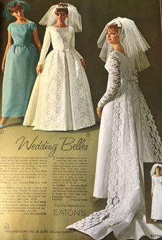 Vintage Weddings, Vintage Bridal, Bridal Gowns, Wedding Gowns, 1980s Wedding, Formal Wedding, Lace Sleeves, 1940s, Marie