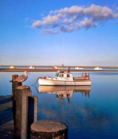 Chatham, Cape Cod Fish Pier   by Chris Seufert