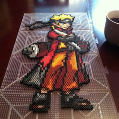 Naruto perler beads by qootielynn