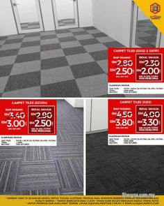Other for sale, in Klang, Selangor, Malaysia. Carpet Tiles Suppliers - Visit Today & Buy At Cheapest Price Don´t leave your floor ugly . id: 819022 Hallway Carpet Runners, Carpet Stairs, Artificial Grass Carpet, Plastic Carpet Runner, Carpets For Kids, Commercial Carpet Tiles, Carpet Cover, Tile Suppliers, Air Conditioning Services