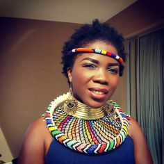 traditional tribal african ndebele jewelry - Google Search