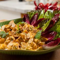 Try this Coronation chicken recipe by Chef LifeStyle FOOD. This recipe is from the show Hairy Bikers Best of Britain.
