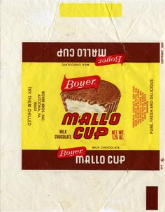 1980s candy bar | Boyer – From Mallo Cup to Fluffernutter and Everything In-Between ...