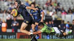 Canberra Raiders' split opening day of Auckland Nines campaign The Canberra Raiders witnessed a Kalyn Ponga masterclass in a strong North Queensland Cowboys side, going down 35-6 in their second game at the Auckland Nines on Saturday. #AucklandNines