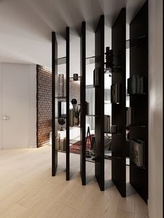 Dreamy Partition Apartment Design Ideas You Must Have Current room segments have numerous employments. They can partition a huge … Home Room Design, Home Interior Design, Interior Architecture, Living Room Designs, Interior Decorating, House Design, Apartment Interior, Apartment Design, Living Room Interior