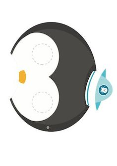 ONE Octonauts Printable Party Mask. $5.00, via Etsy.