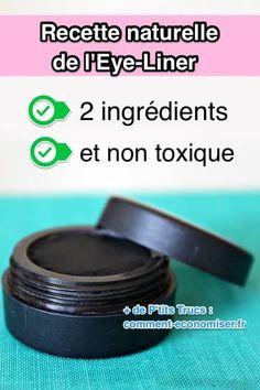Quelle est ma recette maison facile et sans produits toxiques de l'eye-liner ?