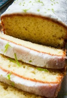 Receitas de liquidificador: bolo de limão siciliano