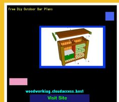 Free Diy Outdoor Bar Plans 065101 - Woodworking Plans and Projects!