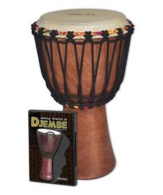 Love this Traditional Rope Tuned Djembe Set on #zulily! #zulilyfinds