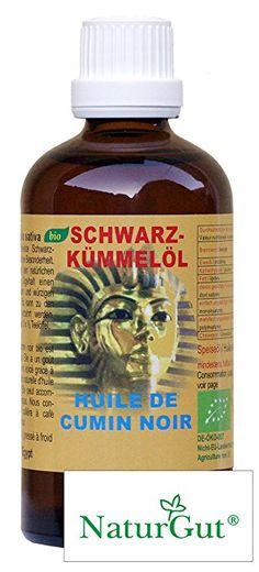 Schwarzkümmelöl Bio - Nigella sativa kaltgepresst aus Ägypten 100ml inkl. GRATIS Magnet