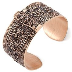 "Statements by Amy Kahn Russell Bronze 7-1/2"" Cuff Bracelet at HSN.com"