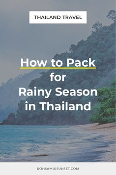 What to Wear for Rainy Season in Thailand? Fail-Proof Rainy Season Tips –Find out exactly what to wear for rainy season in Thailand: the best rain jacket, shoes, clothes, fabrics, and your ultimate rainy season packing checklist. | Click through to read more: https://www.kohsamuisunset.com/what-to-wear-rainy-season-thailand/ | #bangkok #thailand #phuket #kohsamui