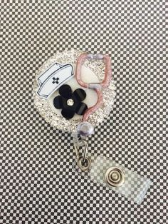 Retractable ID Badge Reel Nurse Bling - BadgeBling  - Cute and Original Gifts for Nurses - Pin for Later!                                                                                                                                                                                 More