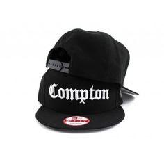Compton New Era 9fifty Snapback Hat (BLACK GRAY UNDER BRIM) - ECapCity 58a353e5712d