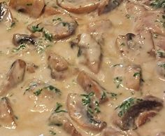 Shrimp Recipes Recipe Champignon cream sauce by LEV-BB – recipe from the category Sauces / Dips / Brota … Shrimp Recipes, Beef Recipes, Vegan Recipes, Cooking Recipes, Healthy Eating Tips, Clean Eating Recipes, Sauces Thermomix, Mushroom Cream Sauces, Mushroom Sauce