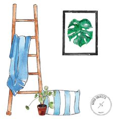 Good objects - Prints at Society6 store, for originals write me to valeriagoodobjects@gmail.com  #goodobjects #watercolor #illustrations #artprints