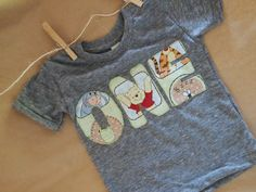 Children's Birthday Shirt Winnie the Pooh by lilthreadzclothing, $26.00 @Angie Patrick you need this when you have a little one