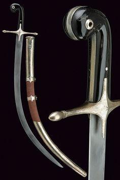 Silver Mounted Blades, 19th Century (Osmanlı Gümüş Kakma Kılıçlar, 19. Yüzyıl)
