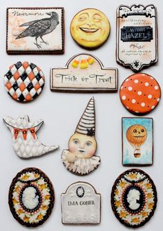 Incredible Halloween cookies by Arty McGoo..