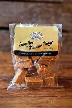 Banoffee Flavour Fudge