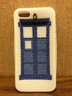 Doctor Who Cross Stitch Iphone Case #doctorwho #tardis