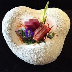 Sashimi #MAIDO @mitsuharu_maido @mmccaughan @theworlds50best #Lima Custom made china #MadeinPeru