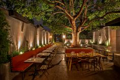 Explore the best Sensational Designs of Garden Restaurant Interior at The Architecture Design. Visit for more ideas about garden Restaurant Design. Cafe Bar, Cafe Restaurant, Outdoor Restaurant Design, Architecture Restaurant, Courtyard Restaurant, Italian Restaurant Decor, Open Air Restaurant, Restaurant Lighting, Outdoor Cafe