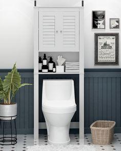 Small Bathroom Renovations, Small Bathroom Organization, Ideas For Small Bathrooms, Storage In Small Bathroom, Bathroom Cabinet Storage, Small Bathroom Decorating, Bathroom Makeovers, Bathroom Shelves, Bathroom Remodeling