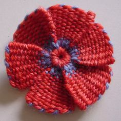 Flower Looms: Woven Flowers with Leaves