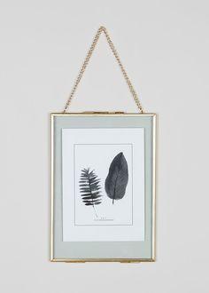 Medium Hanging Metal Photo Frame x – Gold – Matalan Stylish Photo Frames, Metal Picture Frames, Hanging Picture Frames, Hanging Pictures, Frames On Wall, Photo Frame Design, Picture Frame Decor, Picture Gifts, Photo Displays