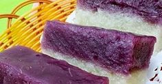 Singapore Home Cooks: Purple Sweet Potato Glutinous Rice Cake by May Chong Purple Desserts, Asian Desserts, Asian Recipes, Chinese Recipes, Steamed Sweet Potato, Sweet Potato Bread, Purple Sweet Potatoes, Ube, Glutinous Rice