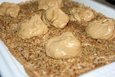 IMG_2540 Peanut Butter, Cake Recipes, Garlic, Food And Drink, Vegetables, Food Cakes, Sweet Treats, Food, Cakes