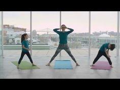 Yoga pour les tout-petits - Défi des Cubes énergie 2016 - YouTube