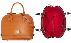 Dooney & Bourke Saffiano Zip Zip Satchel - Designer Handbags - Handbags & Accessories - Macy's