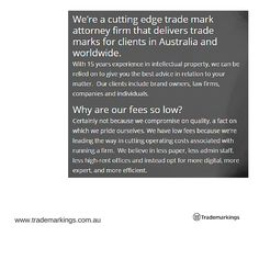 Trade Mark Lawyer Sydney -  We're a cutting edge trade mark attorney firm that delivers trade marks for clients in Australia and worldwide. Visit our website for more https://www.trademarkings.com.au/testimonials/