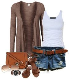 Summer casual outfit