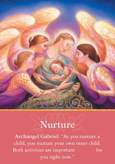 Oracle Card Nurture   Doreen Virtue   official Angel Therapy Web site